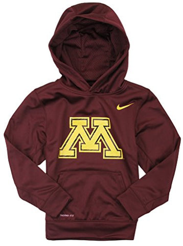 f13372c4 Nike Youth Boys University Of Minnesota Golden Gophers Therma Fit Hoodie