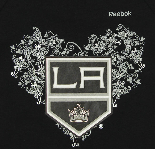 Reebok NHL Little Girls Los Angeles Kings Fancy Dropwaist Dress, Black