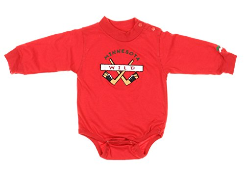 Minnesota Wild NHL Hockey Baby Infant Romper and Pants Set - Red / Green