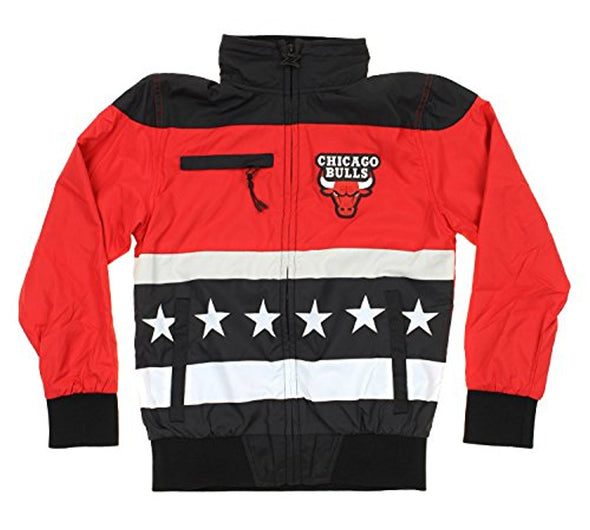 Zipway NBA Youth Chicago Bulls Stars And Stripes Full Zip Track Jacket