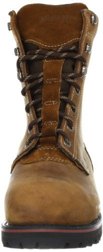 "Wolverine Men's Malone 8"" Waterproof Steel Toe Work Boots, Brown"