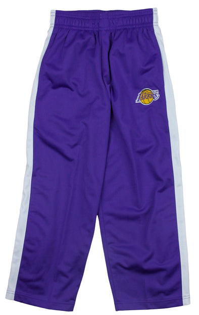 Los Angeles Lakers NBA Basketball Kids / Youth Tricot Track Pants - Purple