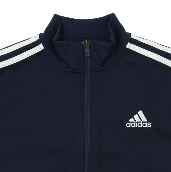 Adidas Youth Separates Training Track Jacket, Colligiante Navy/White