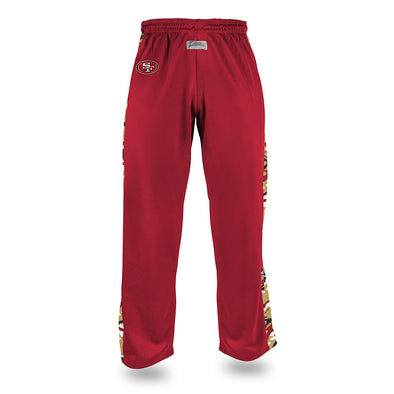 Zubaz Men's NFL San Francisco 49ers Camo Print Stadium Pants