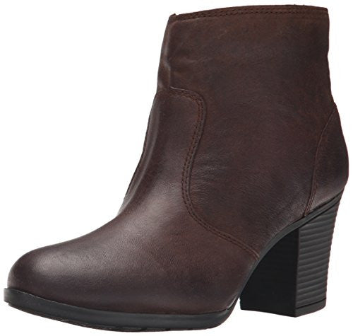 Rockport Women's City Casuals Catriona Zip Ankle Heeled Boot Bootie, Ebano