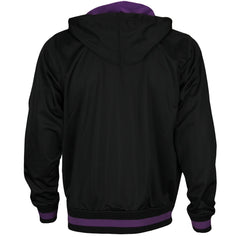 Zipway NBA Basketball Men's Los Angeles Lakers INK Full Zip Hoodie - Black