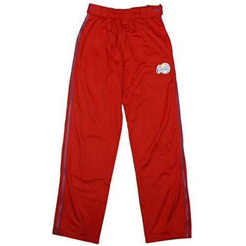 Zipway NBA Basketball Youth Los Angeles Clippers Tearaway Track Pants, Red