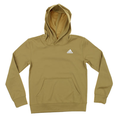 Adidas Big Boys Youth Light Weight Performance Hoodie (X-Large 18-20, Sand)