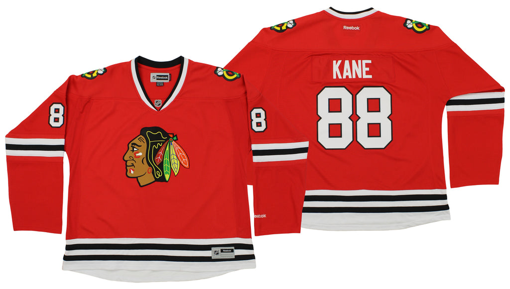 8e14c817799 Reebok NHL Women's Chicago Blackhawks Patrick Kane #88 Premier Player Road  Jersey