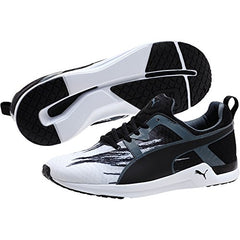 ... Puma Men's Pulse XT Fade Shoes Fashion Sneakers - White / Turbulence /  Black ...