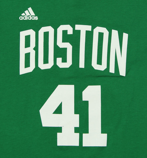 Adidas NBA Youth Boston Celtics Kelly Olynyk #41 Game Time Tee, Green