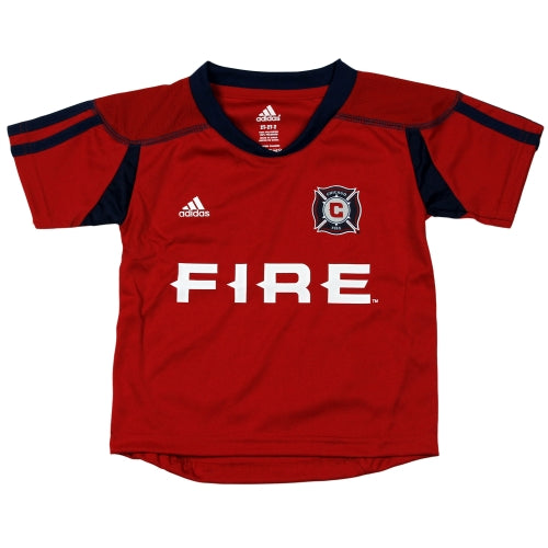 the latest d9861 e86aa MLS Soccer Chicago Fire Toddler's Home Call Up Jersey, Red