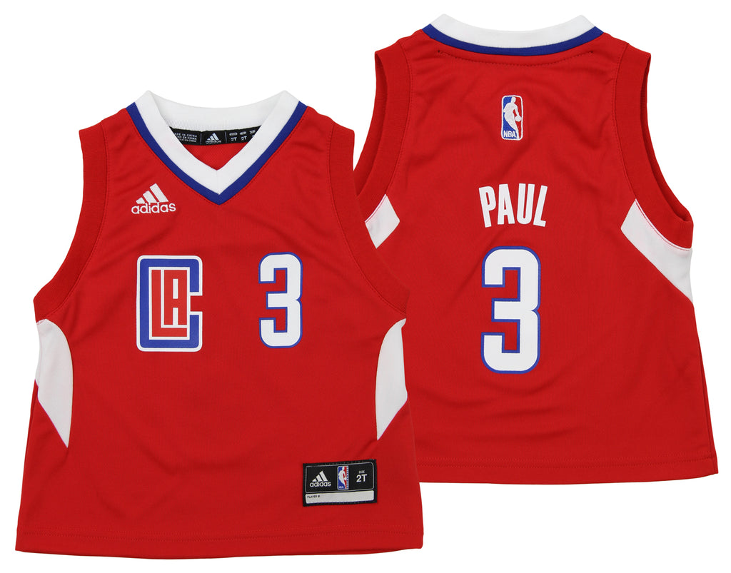 7e0448606 Adidas NBA Toddlers Los Angeles Clippers Chris Paul  3 Away Replica Jersey