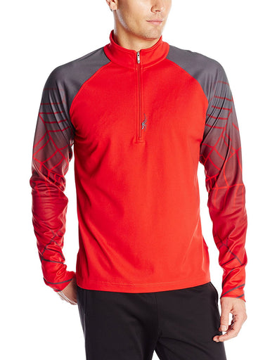 Spyder Men's Linear Web T-Neck, Color Options