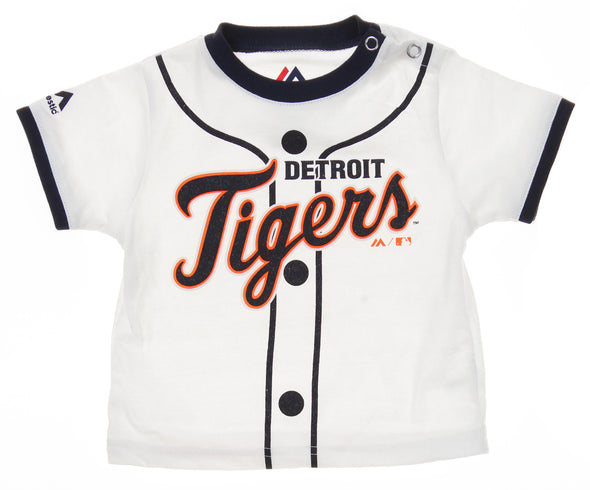 Outerstuff MLB Infants Detroit Tigers Player Tee & Bottom Set, White