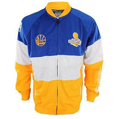Zipway NBA Mens Golden State Warriors Stamped Full Zip Athletic Jacket
