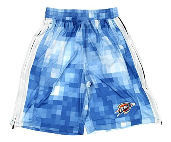Zipway NBA Men's Oklahoma City Thunder Pixel Mesh Athletic Shorts