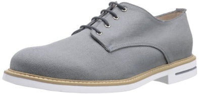 JD Fisk Hardy Men's Oxfords Fashion Lace Up Casual Canvas Shoes, 3 Colors