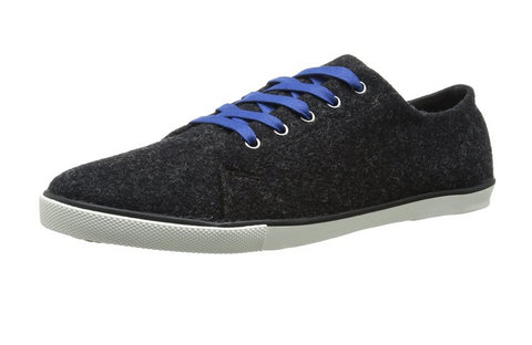 Woolrich Men's Strand Fashion Sneaker, Black Heather Wool