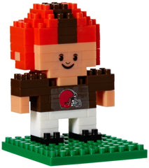 NFL Cleveland Browns Mini BRXLZ Player Building Blocks, One Size