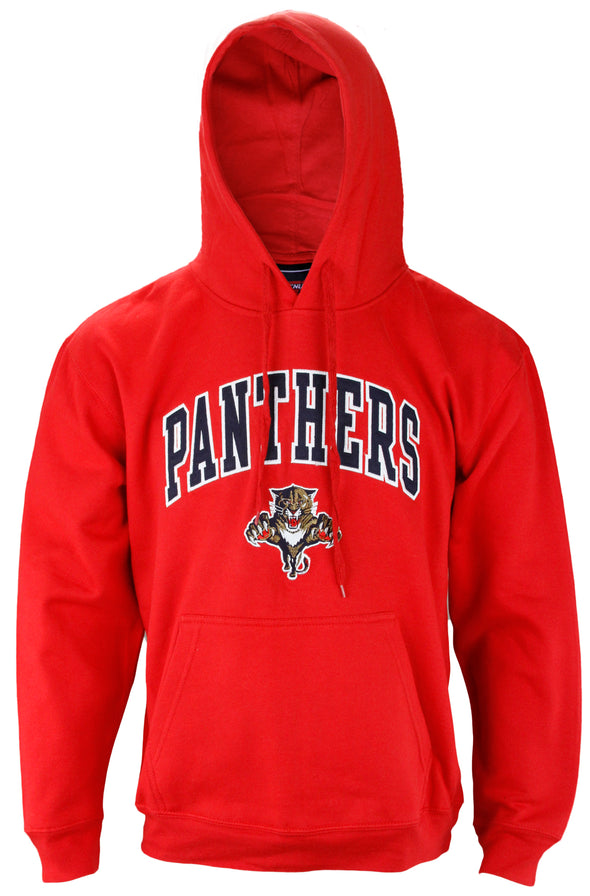 Genuine Stuff NHL Hockey Men's Florida Panthers Pullover Sweartshirt Hoodie, Red