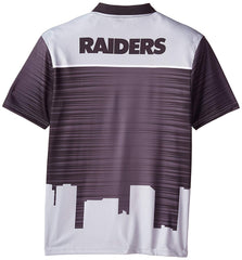 828eb6e3 Forever Collectibles NFL Men's Oakland Raiders Short Sleeve Thematic Polo  Shirt ...