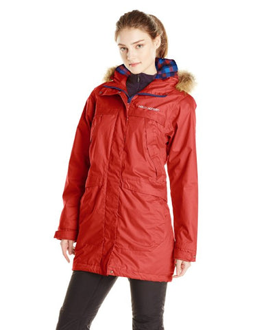 Helly Hansen Women's Coastline Parka Coat Hooded Jacket - Many Colors
