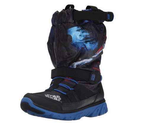 Stride Rite Toddler Made 2 Play Star Wars Sneaker Winter Boot, Black