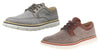 Skechers Men's On The Go Huxley Walking Shoes Oxfords - Brown and Gray