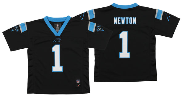 Outerstuff NFL Kids Carolina Panthers Cam Newton #1 Replica Mid-Tier Jersey