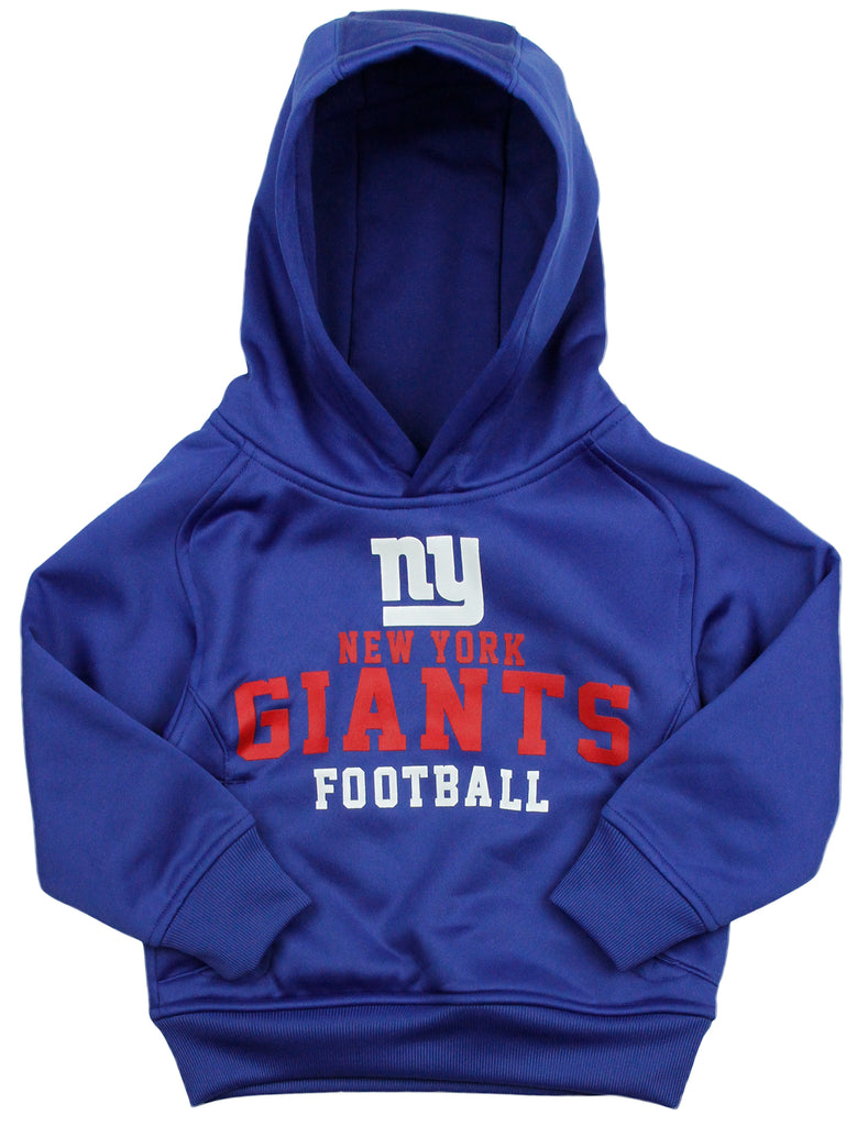 san francisco 3a8d7 bef8d NFL Little Kids Boys New York Giants Pullover Performance Sweatshirt  Hoodie, Blue
