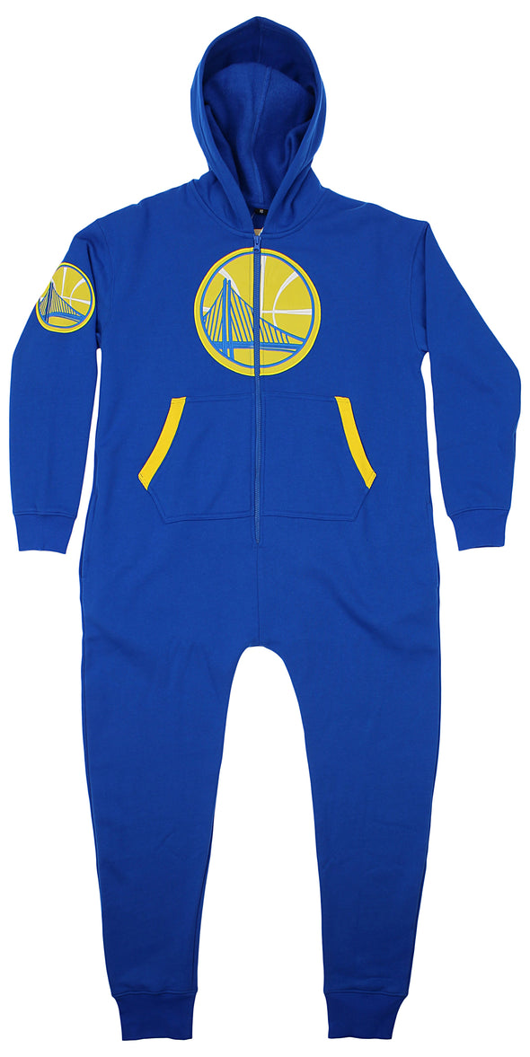Forever Collectibles NBA Unisex Golden State Warriors Team Logo Jumpsuit