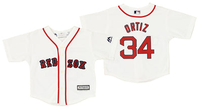 Boston Red Sox David Ortiz #34 MLB Boys Infant Cool Base Home Replica Jersey