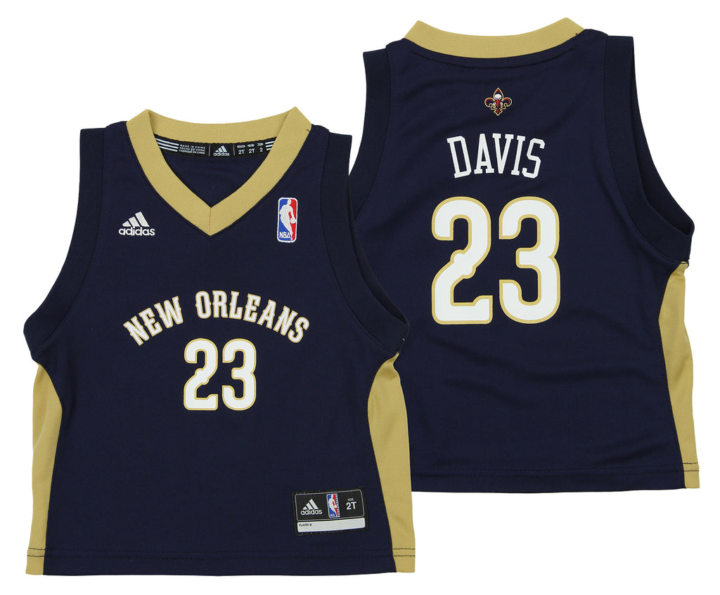 d78c118fb367 Adidas NBA Toddlers New Orleans Pelicans Anthony Davis  23 Away Replica  Jersey