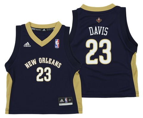 3b29e17e7 Adidas NBA Toddlers New Orleans Pelicans Anthony Davis  23 Away Replica  Jersey