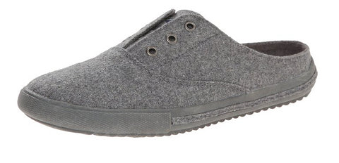 Rocket Dog Women's Pompeii Heather Fabric Flats, Grey