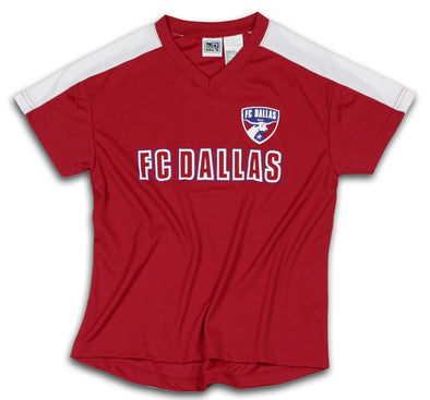 FC Dallas MLS Soccer Boys Youth Team Jersey Top Shirt