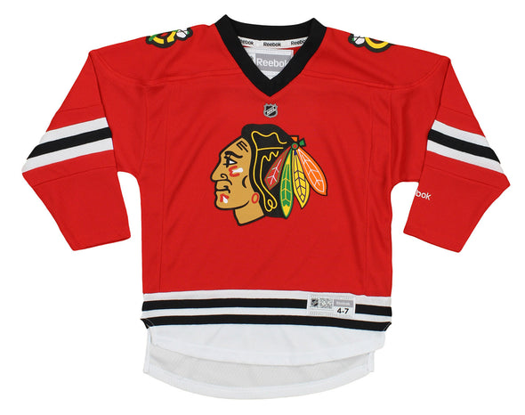 Reebok NHL Toddlers Chicago Blackhawks Replica Jersey, Red