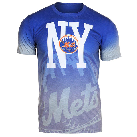 official photos f5b34 4149d Forever Collectibles MLB Men s New York Mets Gradient Tee