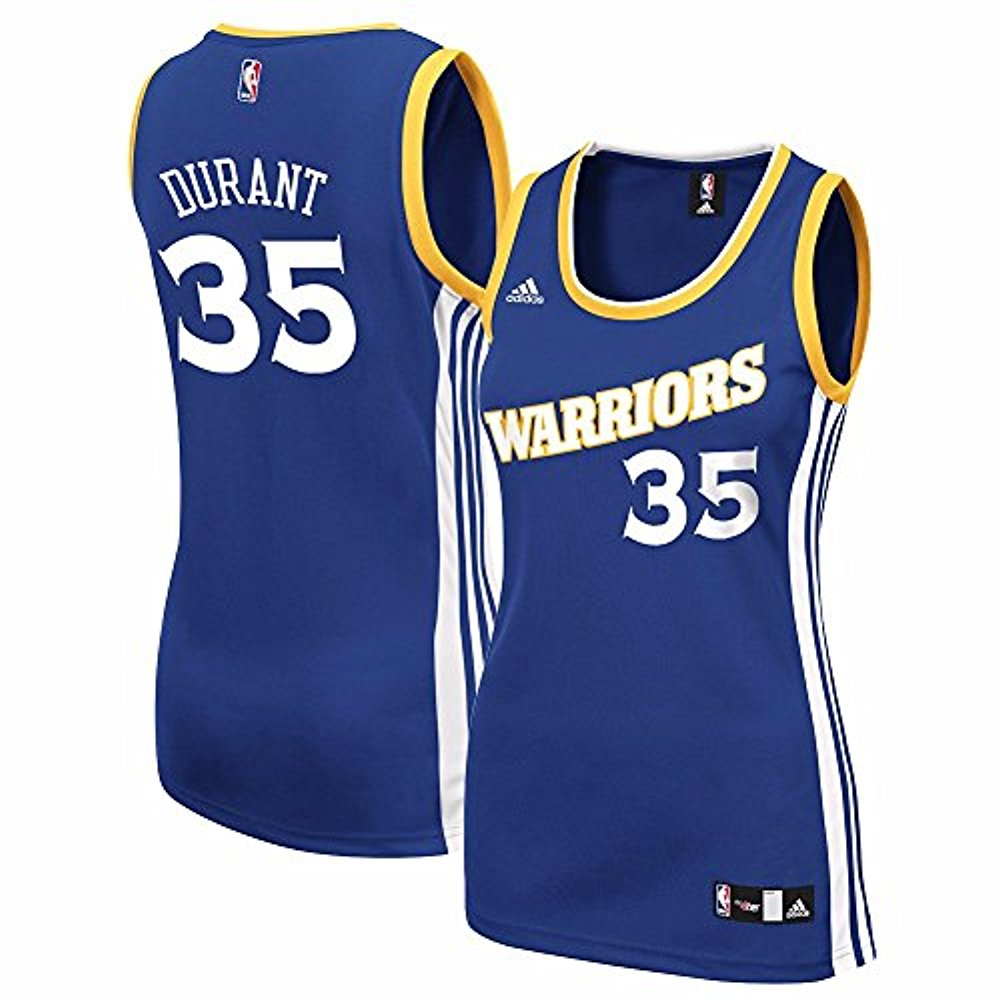 e12af40d99f Adidas NBA Women s Golden State Warriors Kevin Durant Official Road Replica  Jersey