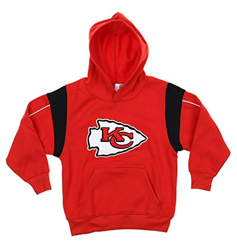 OuterStuff NFL Football Kids   Youth Kansas City Chiefs Hoodie Sweatshirt 81e22ffa337b
