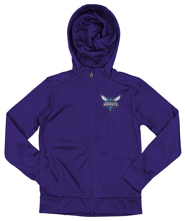 Outerstuff NBA Youth/Kids Charlotte Hornets Performance Full Zip Hoodie