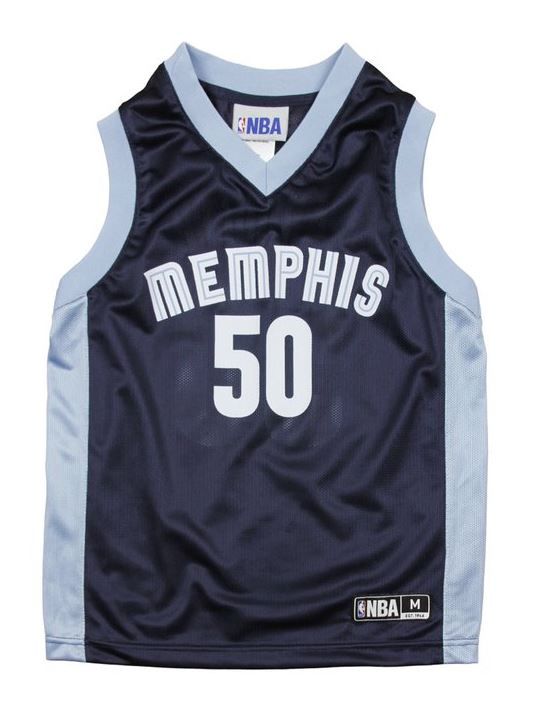 new concept 087e7 7d86c NBA Basketball Youth Memphis Grizzlies Zach Randolph #50 Dazzle Jersey -  Blue