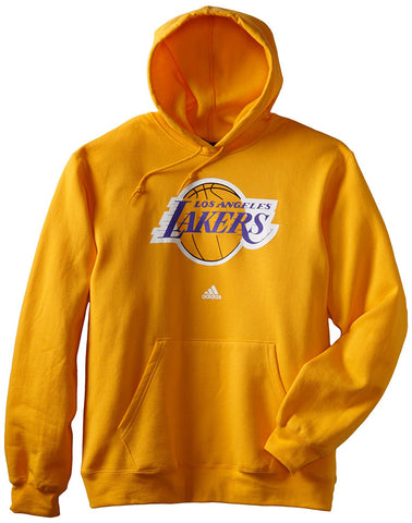 check out 3ff2b ff3c1 Adidas NBA Men s Los Angeles Lakers Primary Logo Hoodie