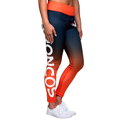 Forever Collectibles NFL Women's Denver Broncos Gradient 2.0 Wordmark Legging