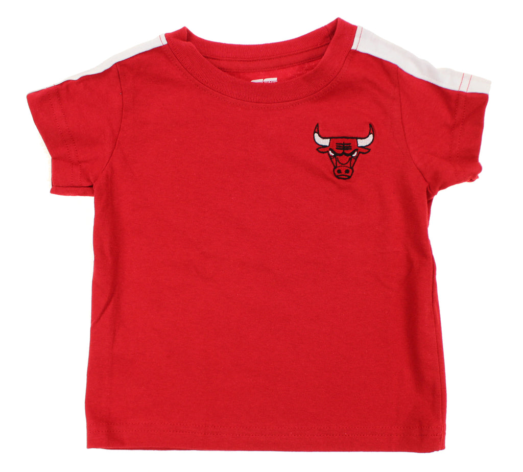 official photos dd9eb d6703 NBA Toddlers Chicago Bulls 3 Stripe T-Shirt, Red