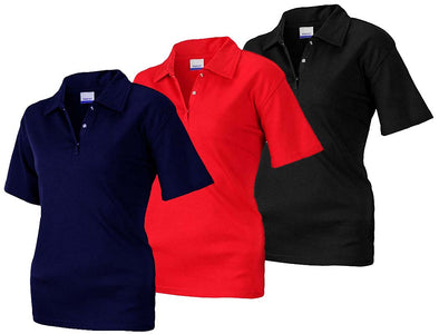 Reebok Women's Short Sleeve Polo, Color Options