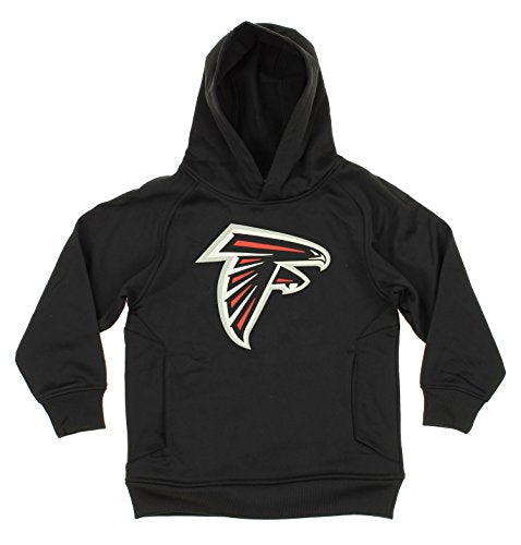 OuterStuff NFL Youth Boys Atlanta Falcons Logo Pullover Sweatshirt Hoodie