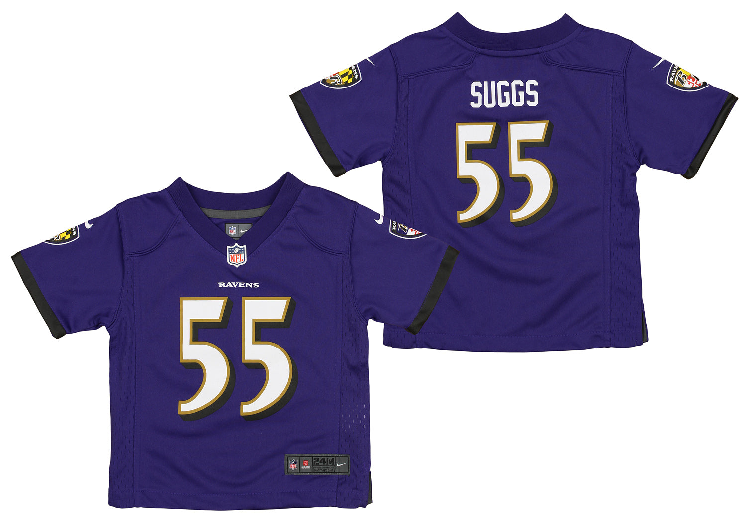 Nike NFL Infants Baltimore Ravens Terrell Suggs #55 Game Day ...