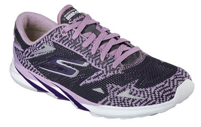 Skechers Women's Go Meb Speed 3 2016 Running Shoes Purple/Charcoal